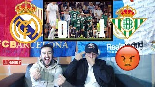 BARCA FAN REACTS TO REAL MADRID LOSING 0-1 😂 - HIGHLIGHTS REACTION