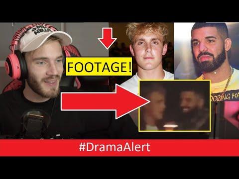 Jake Paul & DRAKE Helping PEWDIEPIE? #DramaAlert Shane Dawson & James Charles YouTube CEO!