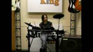 Session DD505 Electronic Drum Kit DEMO