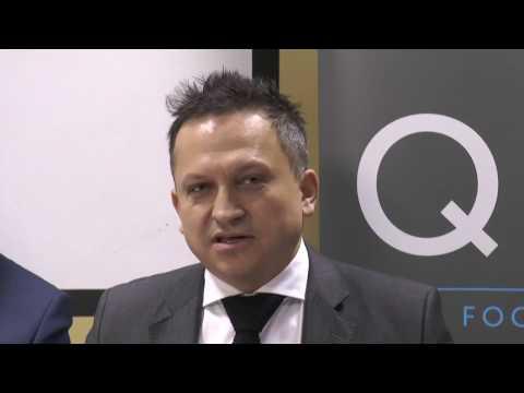 Konferencja prasowa firmy QFG - Pionki 12.01.2017