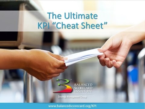 The Ultimate KPI Cheat Sheet
