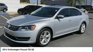 2014 Volkswagen Passat 2014 Volkswagen Passat TDI SE FOR SALE in Corona, CA VP3877