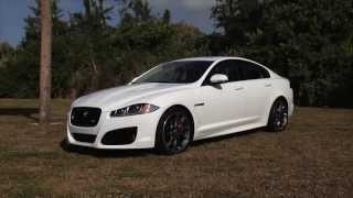 2013 Jaguar XF R Review by Voxel Group - Garage TV