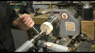 Wood Turning - How to make a threaded Faceplate/Glue Block