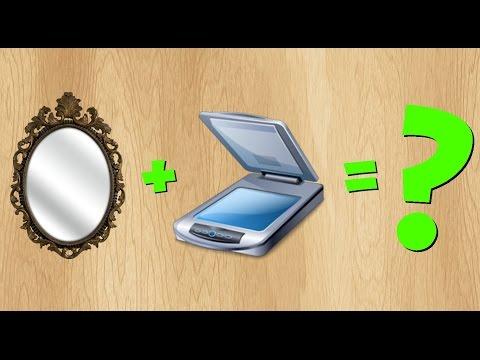 Что будет если отсканировать зеркало