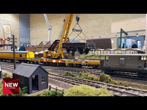 Epic Model Railway Derailment | Rescue Crane Saves the day! | Apethorn Junction
