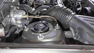 Замена верхней опоры передней стойки Daewoo Lanos ZAZ Lanos