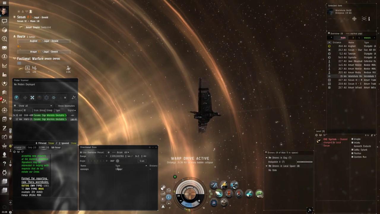 Eve Online: Heron (Part 1) - Null sec exploration