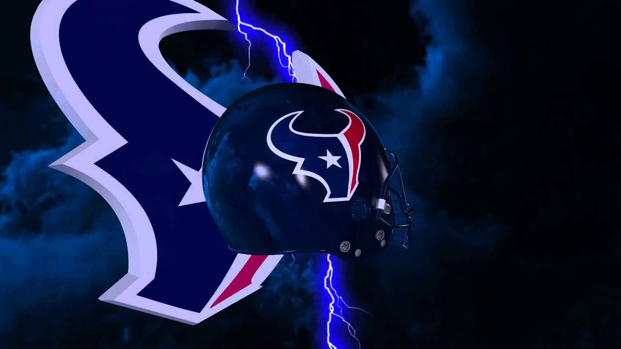 Steelers Wallpaper Hd Houston Texans Helmet And Logo Lightning Experience Youtube