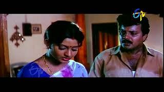Sai Kumar & Indraja Emotional Scene Kalavari Chellelu Kanaka Maha Lakshmi   Suresh  Rasi  ETV Cinema