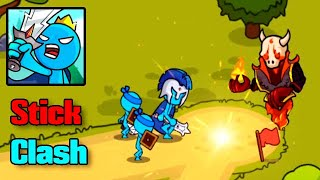 Stick Clash Dungeon Mode Android & IOS Gameplay Part - 1