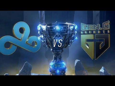 C9 vs GEN | Worlds Group Stage Day 3 | Cloud9 vs Gen.G (2018)