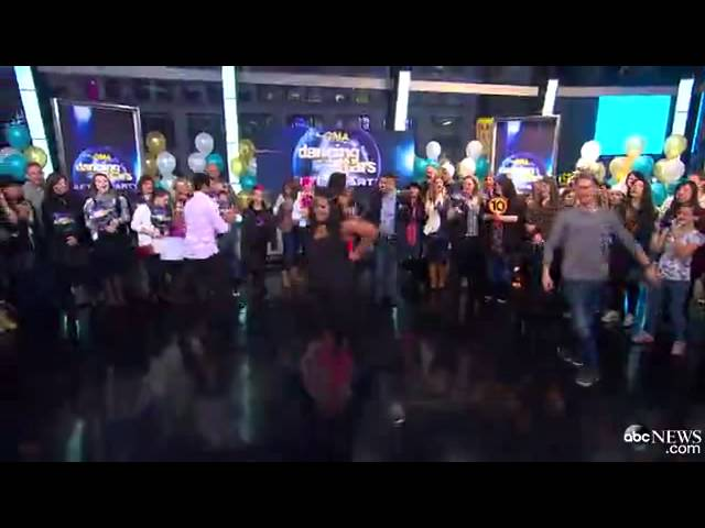 Glee Star and DWTS Winner Amber Riley Takes Final Dance GMA Stage.