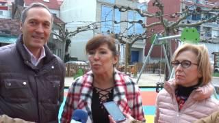 A conselleira Beatriz Mato visitou o concello de Soutomaior