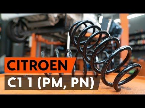 Как заменить пружины задней подвески CITROEN C1 (PM, PN) [ВИДЕОУРОК AUTODOC]
