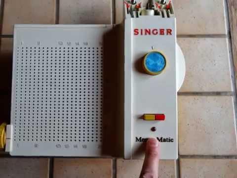 m mo matic plots machine tricoter singer 2200 4 branchements et un voyant lumineux youtube. Black Bedroom Furniture Sets. Home Design Ideas