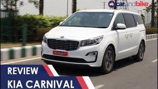 Kia Carnival MPV Review | NDTV carandbike