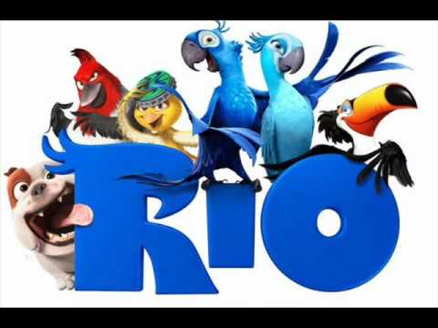 Rio - I wanna party (Hot wings) Will.i.am, Jamie Foxx, Anne Hathaway