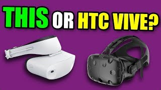 THIS IS WAY cheaper, but is it GOOD ENOUGH?  - HTC VIVE vs Windows Mixed Reality FULL REVIEW