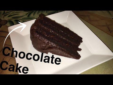 Chocolate Cake Using French Press Coffee Homemade Tutorial 2017