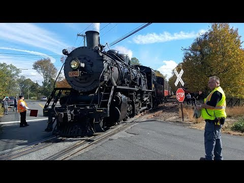 Two River's Steam Special 2017(P&W, Amtrak, & Valley RR)