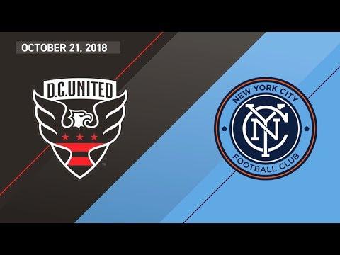 HIGHLIGHTS: D.C. United vs. New York City FC | October 21, 2018