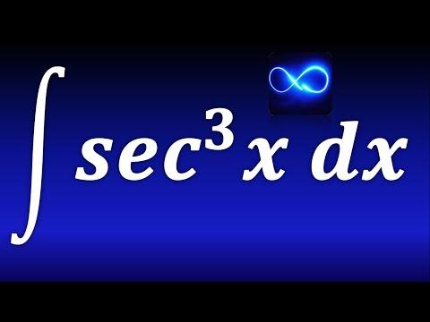 164. Integral de secante cúbica mediante integración por partes. TRIGONOMETRICA. EJERCICIO RESUELTO.