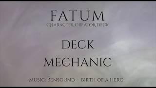 Fatum. Character creator deck
