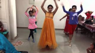 Prem Ratan Dhan Payo Dance Choreography - Beginner Level OR Kids (Easy)