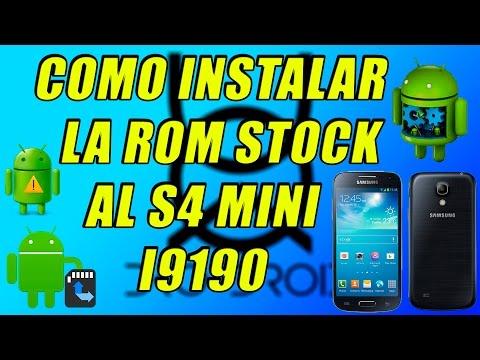 ✔Como Revivir/Insalar La Rom Stock S4 Mini I9190