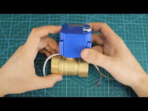 Кран шаровой с электроприводом CWX CR02 DN32
