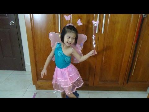 Váy cánh tiên Cánh bướm thiên thần | Đồ chơi trẻ em | Thời trang trẻ em | PA channel
