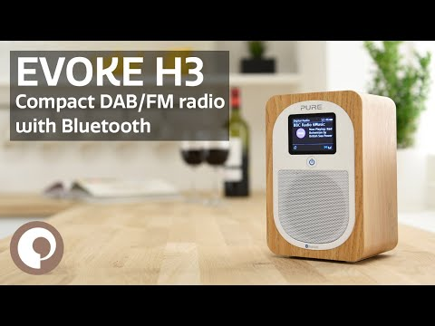 Pure Evoke H3 - Compact DAB/FM Radio with Bluetooth
