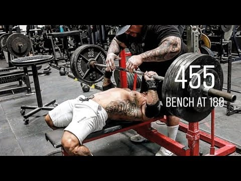 455 Bench Press At 180 Body Weight
