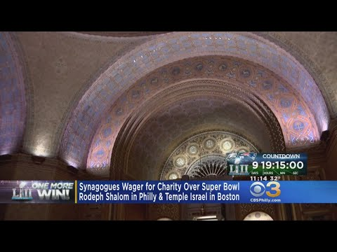 Synagogues Wager For Charity Over Super Bowl