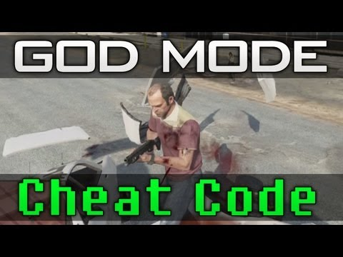"Gta 5 - ""God Mode"" Cheat Code! UNLIMITED HEALTH!! (Guide)"