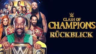 WWE Clash of Chions 2019 RÜCKBLICK REVIEW