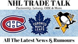 NHL Trade Talk - Maple Leafs, Habs, Penguins & Arizona