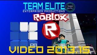 Team Elite Video 2013.15: Visiting Pinewood Builders HQ in ROBLOX