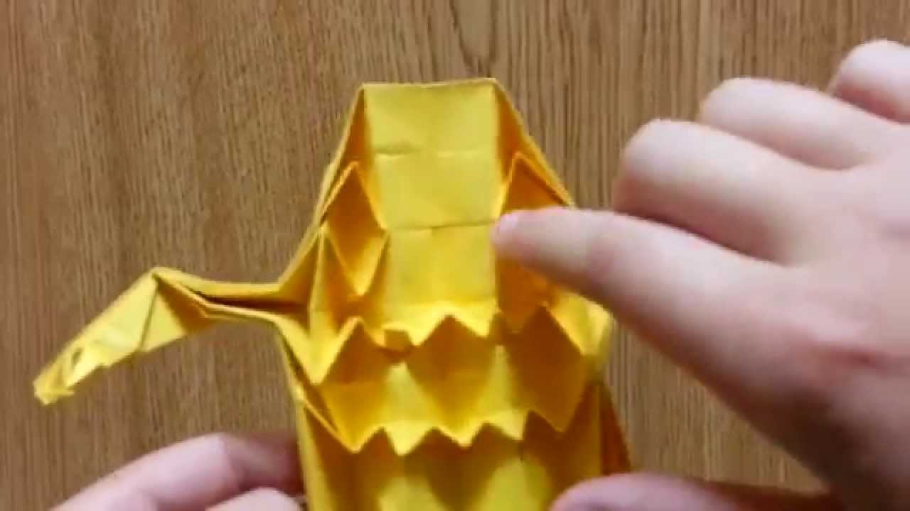 Origami ghost and goblin designed by jeremy shafer not a origami ghost and goblin designed by jeremy shafer not a tutorial jeuxipadfo Choice Image