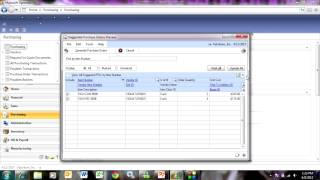 Purchase Order Generator in Dynamics GP