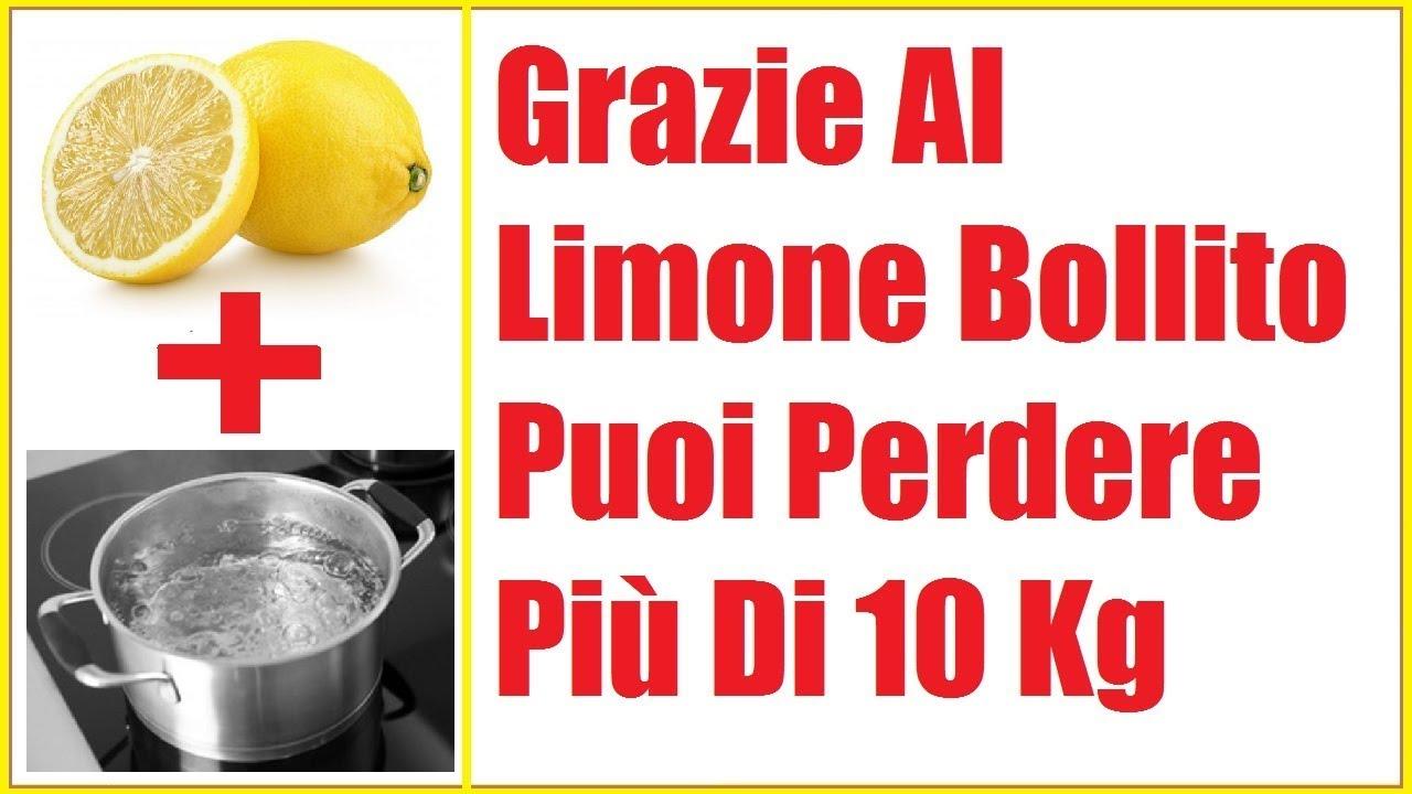 limone bollito per dimagrire