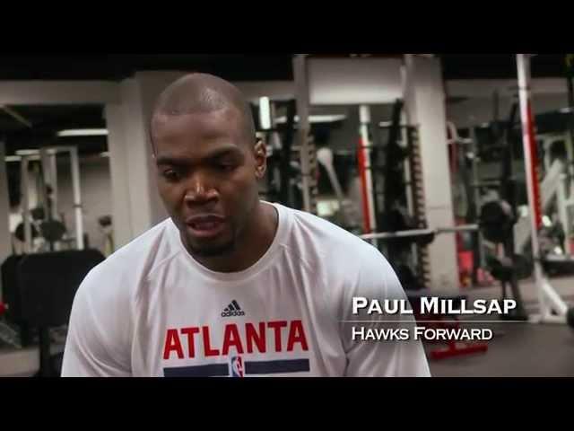 Paul Millsap – Working Hard