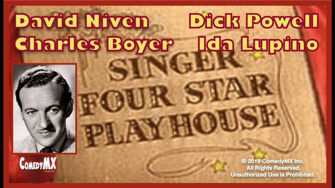 Download Four Star Playhouse - Season 1 - Episode 3 - The Lost Silk Hat | David Niven, Dick Powell