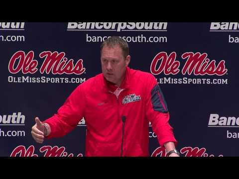 Ole Miss Football Spring Practice Press Conference (2/28/17)