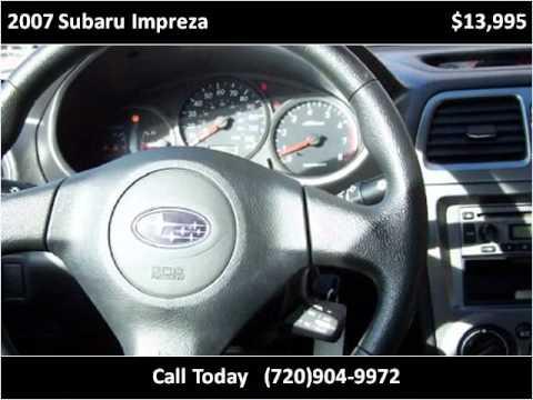 Levis Auto Sales >> 2007 Subaru Impreza Available From Levi S Auto Sales Youtube