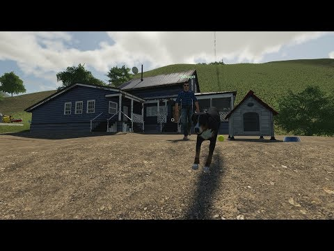 BYGGER ETT FARMHOUSE | Farming Simulator 19