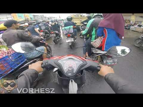Cara Belajar Motor Matic Beat di Jalan Lewat Pasar Anyar Bogor - 19