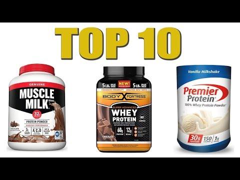 Top 10 Best Protein Powders 2020