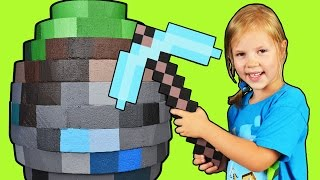 GIANT MINECRAFT  EGG ☐ World's Biggest Minecraft Egg ☐ Surprise Egg in Minecraft